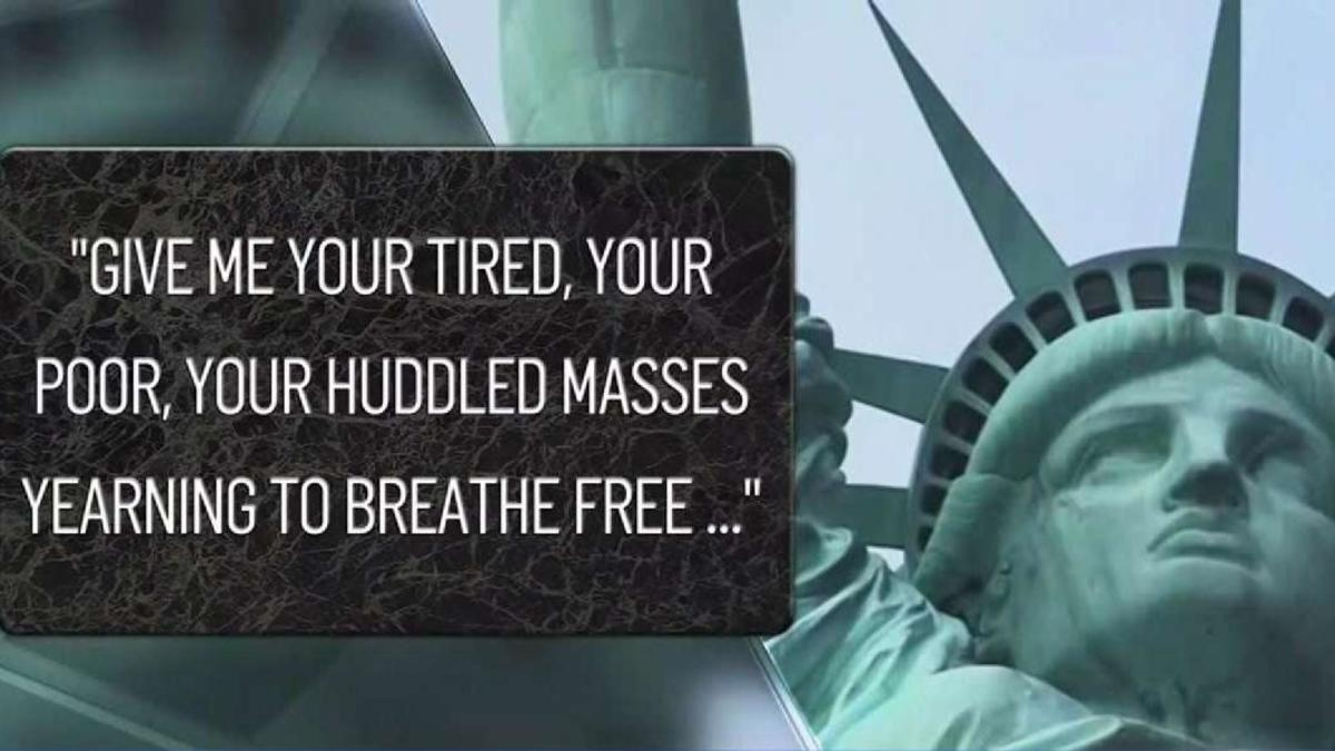 Trump Official Revises Statue Of Liberty Poem To Defend Rule
